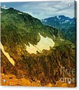 The Silent Mountains Acrylic Print