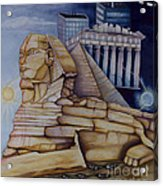 The Silent Witness Of Civilizations Past And Those Yet To Be Born Acrylic Print