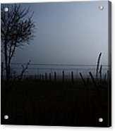 The Silhouette Of Morning Acrylic Print