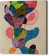 The Silk Worm Acrylic Print