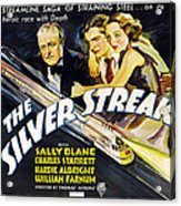 The Silver Streak, Us Poster Art Acrylic Print