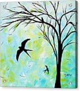 The Simple Life By Madart Acrylic Print