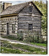 The Simple Life Acrylic Print by Heather Applegate