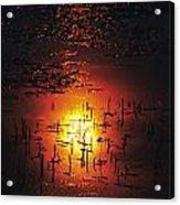 The Sinking Sun Acrylic Print