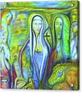 The Sister Acrylic Print
