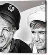 The Skipper And Gilligan Acrylic Print