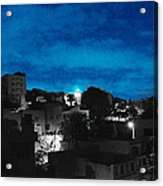 The Sky And The Night Acrylic Print