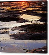 The Sky In The Mud At Low Tide Acrylic Print