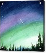 The Sky Is Falling Acrylic Print
