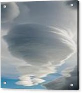 The Sky Over Puerto Natales In Patagonia Chile Acrylic Print