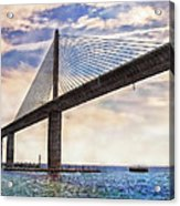 The Skyway Acrylic Print