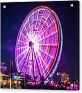The Skywheel Acrylic Print