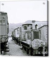 The Steam Train Acrylic Print