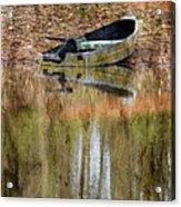 The Small Boat Photoart II Acrylic Print