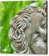 The Smiling Angel Buffalo Botanical Gardens Series Acrylic Print