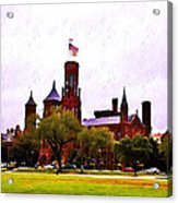 The Smithsonian Acrylic Print by Bill Cannon