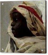 The Smoking Moor Acrylic Print