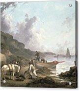The Smugglers, 1792 Acrylic Print
