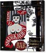 The Smugkroen Bar Acrylic Print