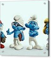 The Smurfs Movie Acrylic Print