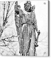 The Snow Angel Acrylic Print