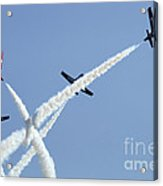The Snowbirds At High Speed Acrylic Print