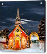The Snowdens At Church Acrylic Print