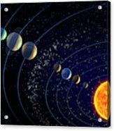 The Solar System Acrylic Print