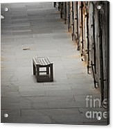 The Solitary Seat Acrylic Print