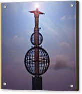 The Son Rising Acrylic Print by Chris Anderson