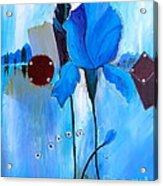 The Sound Of Blue Acrylic Print