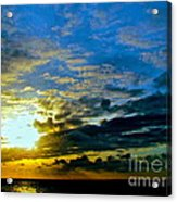 The Sound Of Sky Acrylic Print by Q's House of Art ArtandFinePhotography