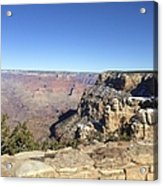 The South Rim In The Winter Acrylic Print