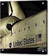 The Space Shuttle Endeavour 12 Acrylic Print