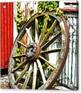 The Spare Wheel  Acrylic Print