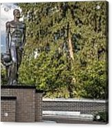 The Spartan Statue At Msu Acrylic Print