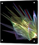 The Speed Of Light - Use Red/cyan Filtered 3d Glasses Acrylic Print