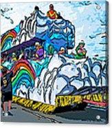 The Spirit Of Mardi Gras Acrylic Print by Steve Harrington