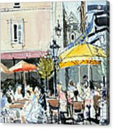 The Square At St. Malo Acrylic Print