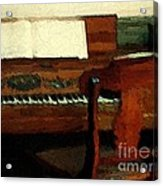 The Square Piano Acrylic Print