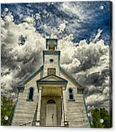 The Squaw Bay Church Acrylic Print by Jakub Sisak