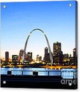 The St. Louis Skyline Acrylic Print