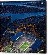 Husky Stadium At Dusk Acrylic Print