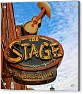 The Stage On Broadway Acrylic Print