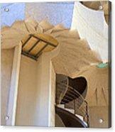 The Staircase Barcelona Acrylic Print