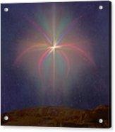 The Star Of Bethlehem Acrylic Print