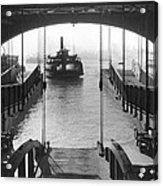 The Staten Island Ferry Acrylic Print