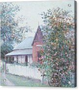The Stationmaster's Cottage Acrylic Print