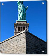 The Statue Acrylic Print