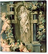 The Statue Of Ceres Acrylic Print